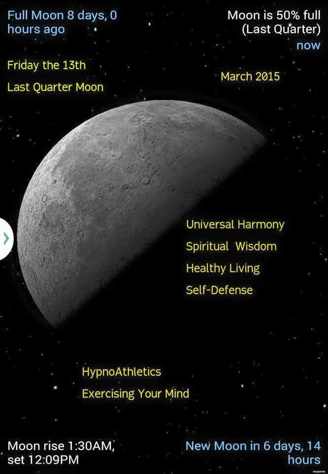 Friday The 13th Moon Phase Metaphysics