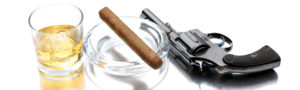 image_of_a_hard_liquor_cigar_and_a_firearm_000011064126